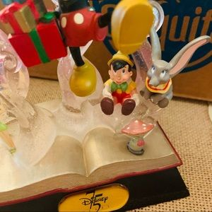 Disney Accents - disney 75th anniversary book sculpture Mickey